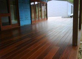 Grey Ironbark Finished Deck 140x19 S&B