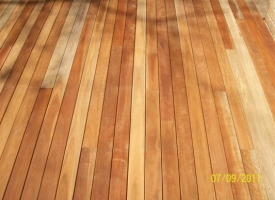 Spotted Gum Decking 86 x 19 S&B Oiled