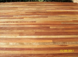 Spotted Gum 86 x 19 Oiled S&B