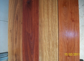 Spotted Gum/Grey Ironbark Sample Boards Oiled